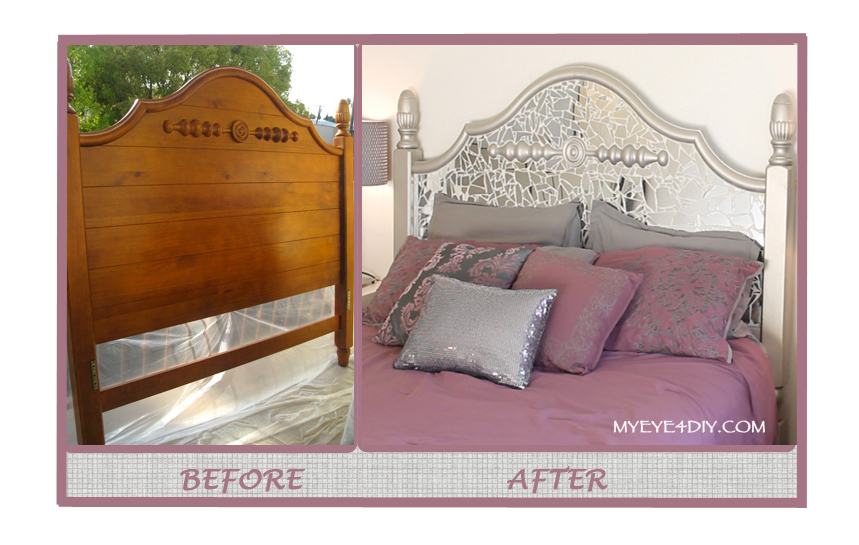 Before and After Headboard
