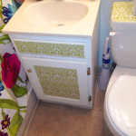 SMALL Bathroom Storage Dilemmas! $6 Solution…