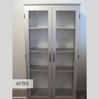 Craigslist Bookcase Makeover