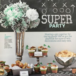 DIY Super Bowl Party Decor and Recipes