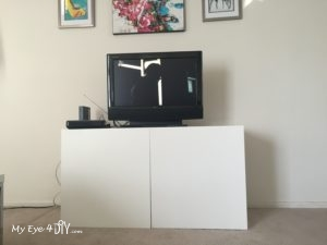 TV Stand - Put together - Before