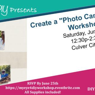 Introducing MYEYE4DIY Workshops!