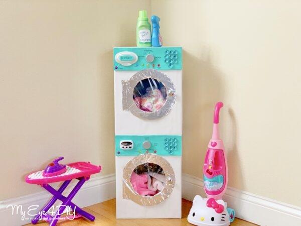 Indoor Activities For Kids - Washer Dryer Set