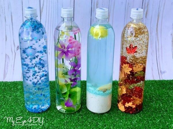 Indoor Activities For Kids - Sensory Bottles