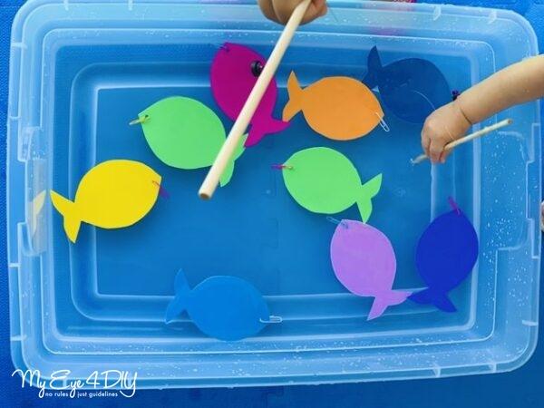 Indoor Activities For Kids - Magnetic Fishing Set