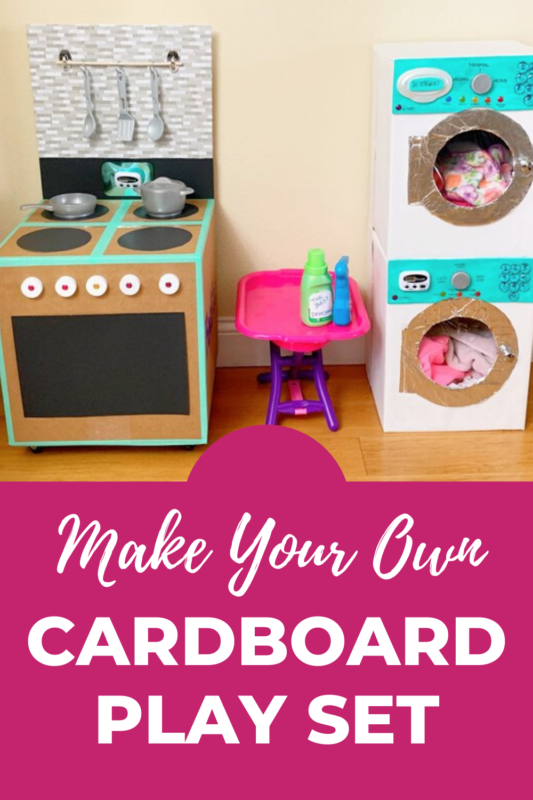 Cardboard Play Set