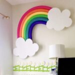 Pool Noodle Hacks – Rainbow Wall Art