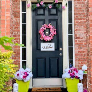 Front Door Refresh Under $100